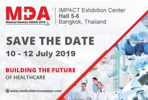Medical Devices ASEAN 2019 (10th to 12th JULY, IMPACT