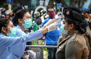 Coronavirus Thaimaa